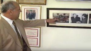 La visita histórica de Balaguer a Reagan
